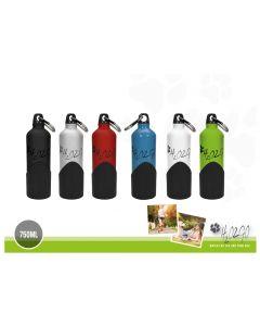 H2O2GO Trinklfasche mit integriertem Napf