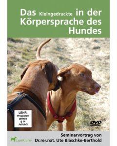 Das Kleingedruckte in der Körpersprache des Hundes