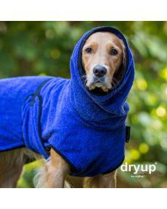 dryup cape Hundebademantel (blau)