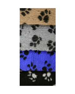 Vetbed Isobed SL Pfote (beige, grau, blau, schwarz)
