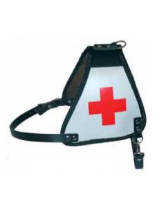 Kenndecke Leder (Rotes Kreuz)