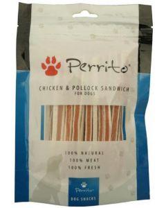 Perrito Snacks Chicken & Pollock Sandwich