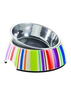 Melamin Napf Stripes (farbige Streifen)