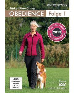 DVD Obedience 1 von Imke Niewöhner Neuauflage mit der Prüfungsordnung 2013