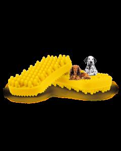 pet+me® Hundebürste gelb