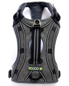 EQDOG Pro Harness Brustgeschirr black/reflective (Oberansicht)