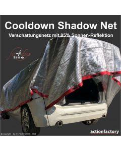 Cooldown Shadow Net schützt Ihr Auto vor zu starkem Aufheizen
