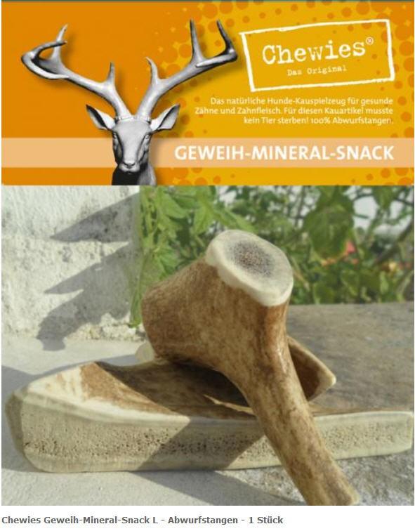 Chewies Geweih-Mineral-Snack